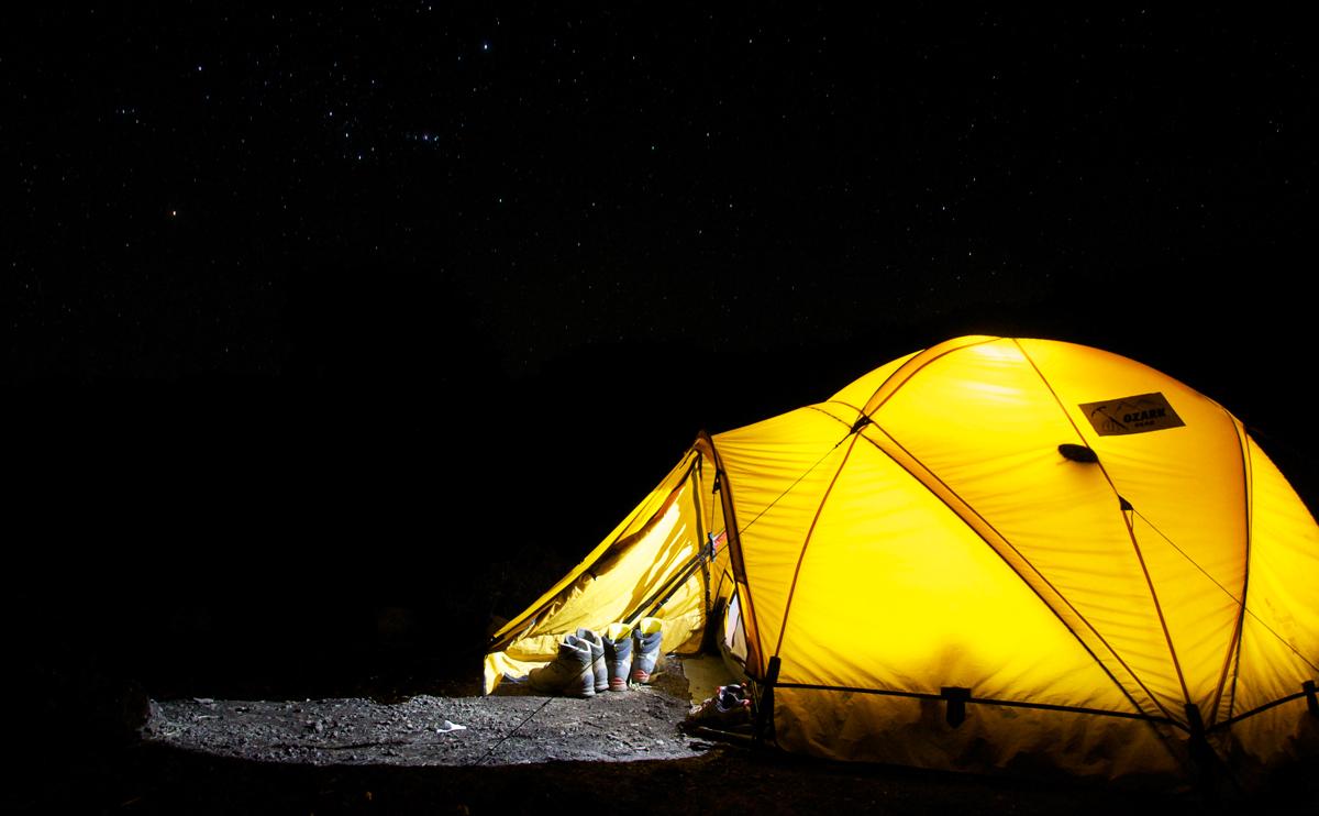 はじめてテント泊装備