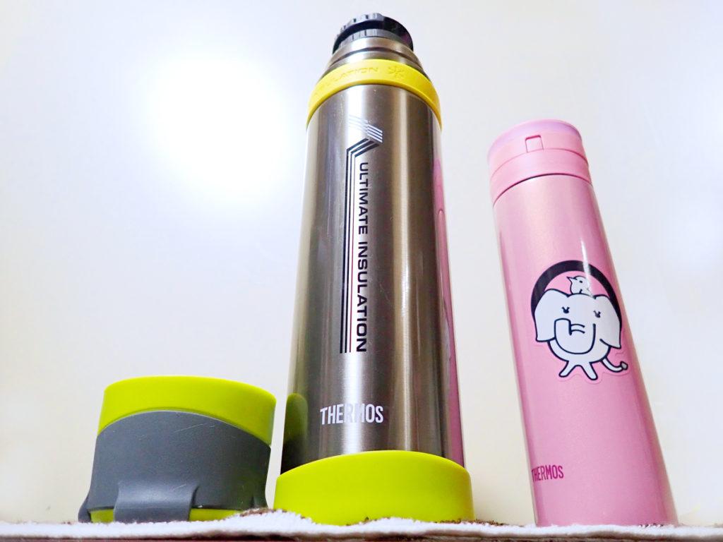 登山やアウトドアでの使用サーモス山専用ボトル