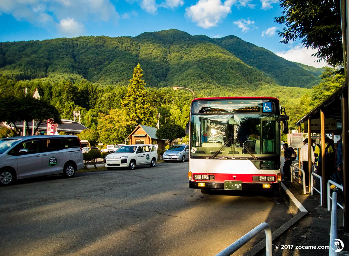 木曽駒ケ岳バス