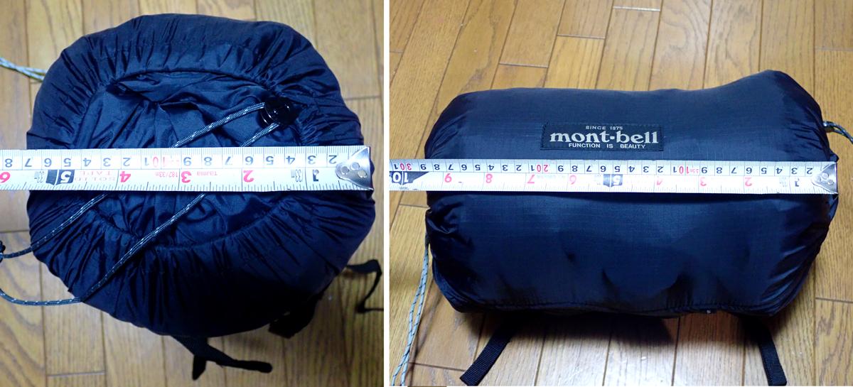 モンベル コンプレッションスタッフバッグ SにMSRエリクサー3を入れてみた