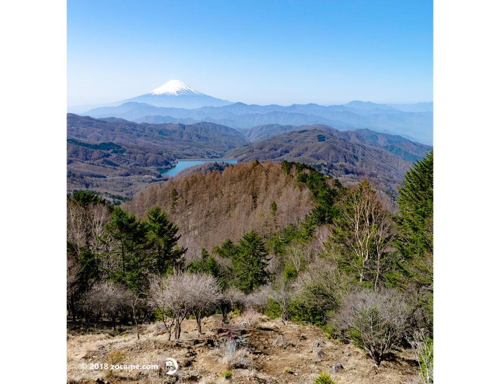 山梨景色の良い山大菩薩嶺山