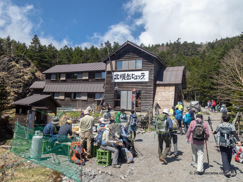 開山祭前2018北横岳