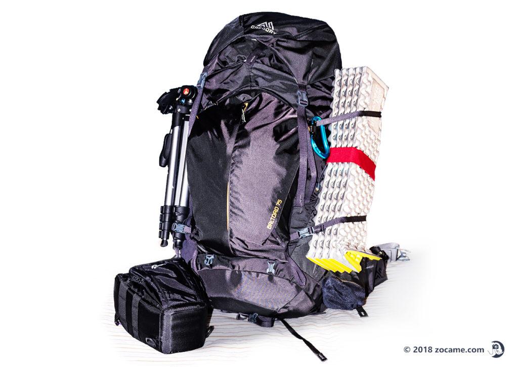 初めての立山テント泊登山!練習でパッキング!バルトロ75