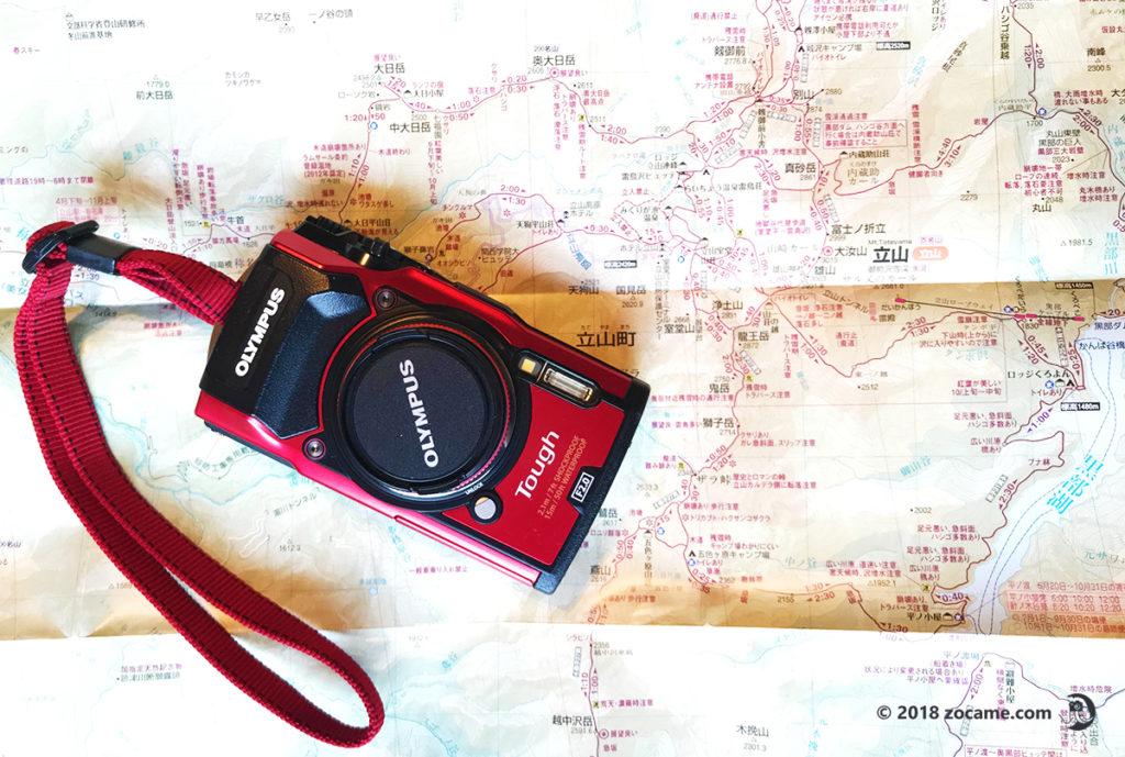 テント泊登山カメラ