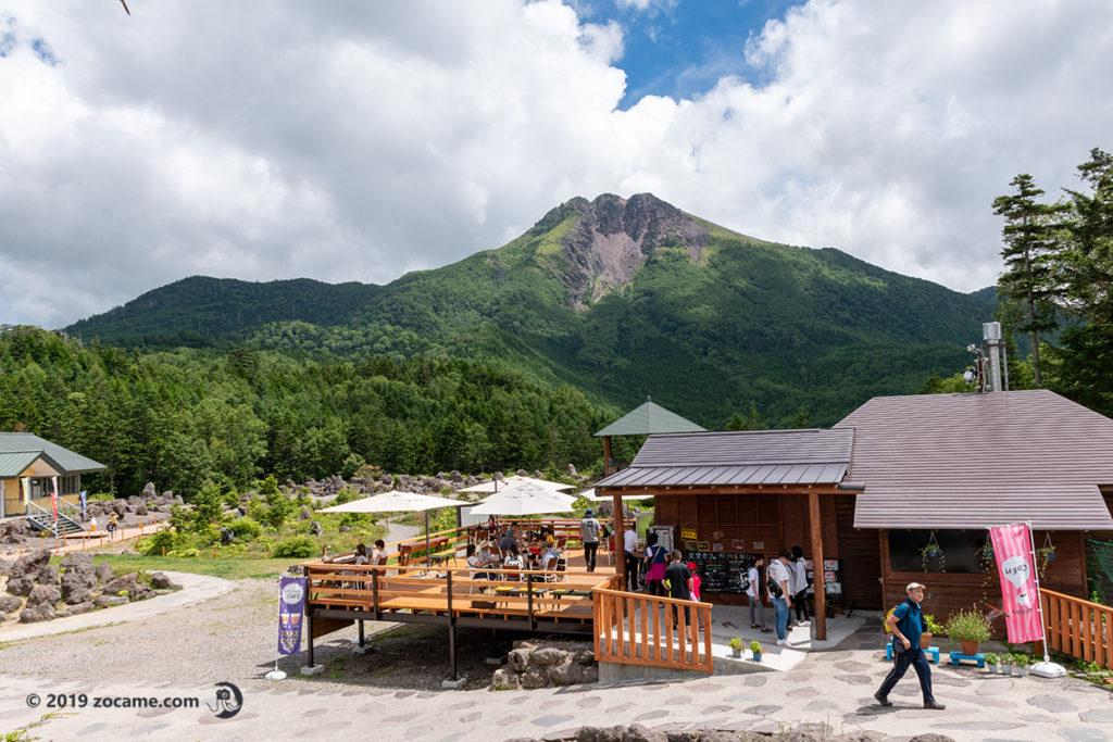 白根山お盆カフェ